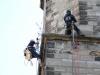 Baumentfernung am Turm durch die Firma SUKA