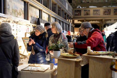 Kunst- und Handwerkermarkt 2013, Foto: Hans-Peter Stadermann, TA