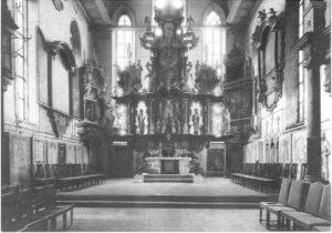 Chor (Altar von Burchard Röhl 1641)