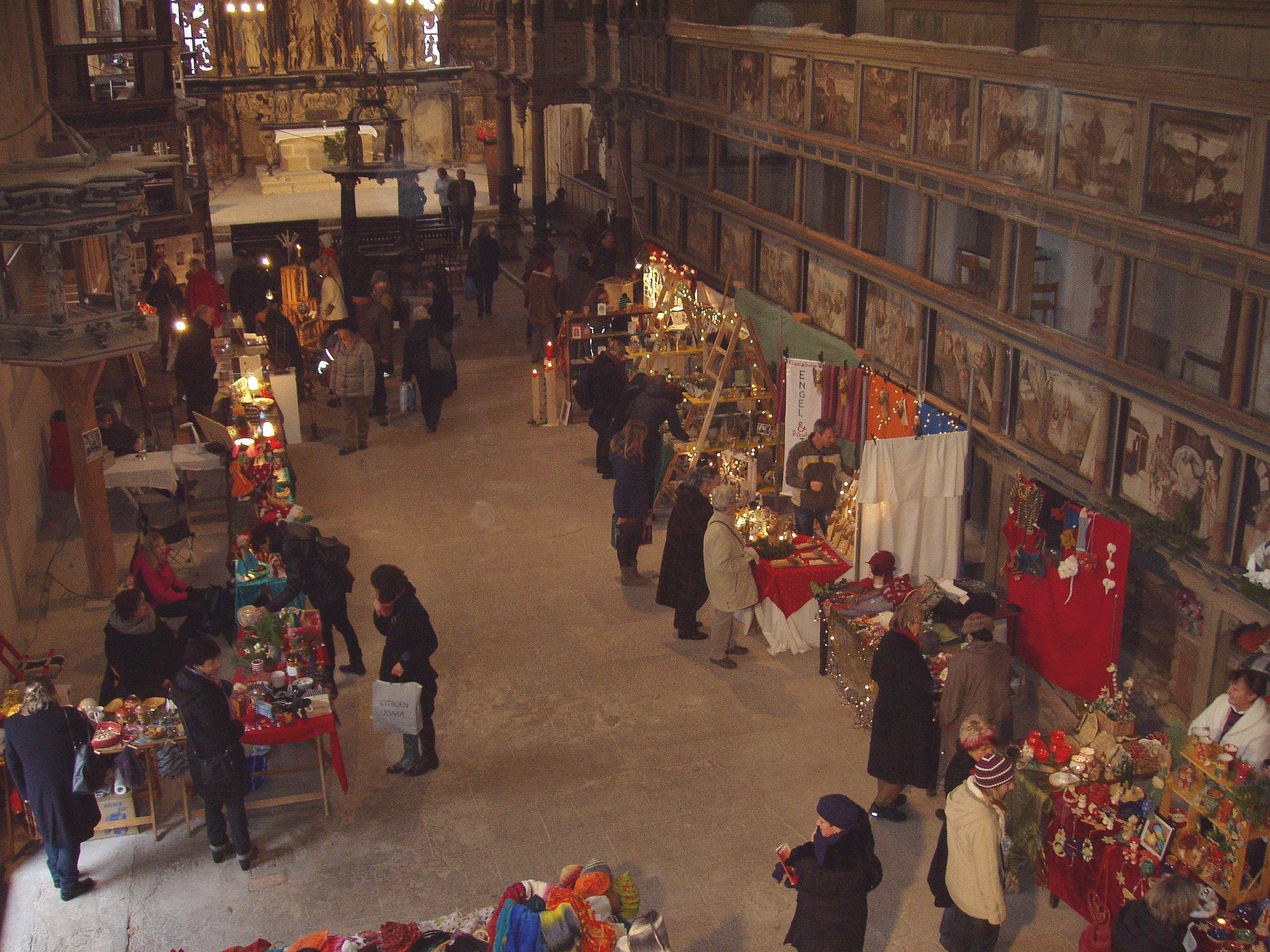 6. Kunst- und Handwerkermarkt