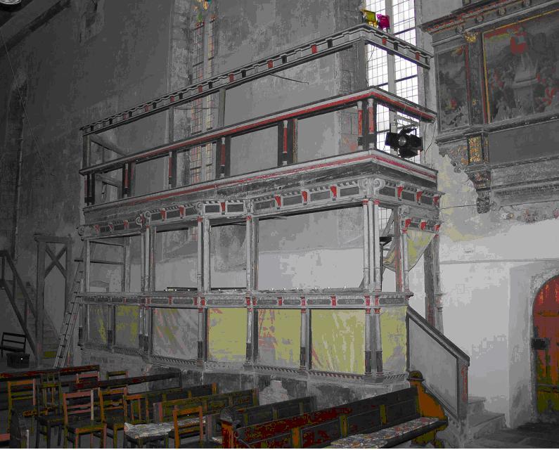 Adelsstand: Zustand vor Beginn der Sanierung, Foto: Fontanive 2010