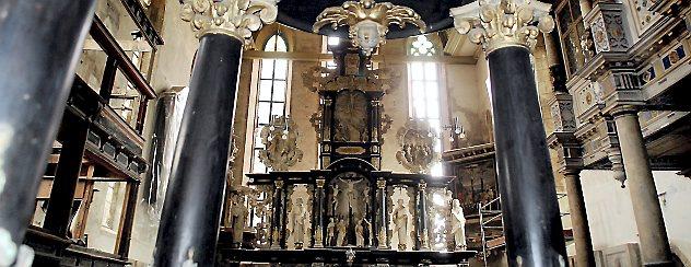 Als die Franziskaner Arnstadt und die Oberkirche verlassen hatten, predigte dort nach Einführung der Reformation Joachim Mörlin. Foto: Hans-Peter Stadermann