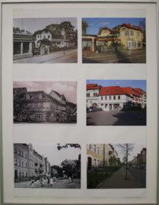 Tafel der Fotoausstellung