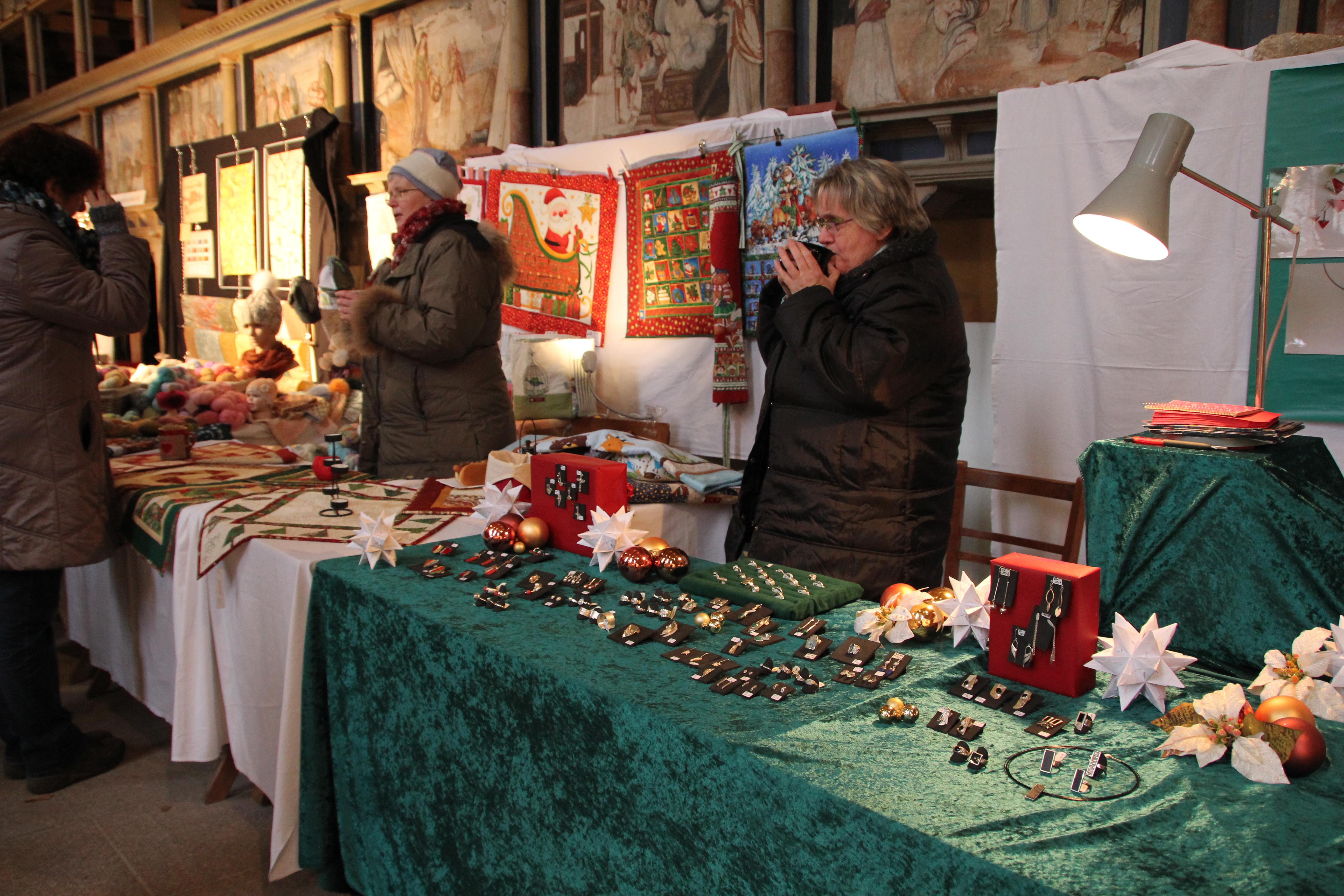 Kunst- und Handwerkermarkt 2013, Foto: Oberkirche Arnstadt e.V.