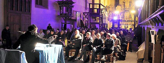 """Zum Thema Barmherzigkeit organisiert der Arnstädter Oberkirchenverein am Donnerstag den zweiten """"Arnstädter Perspektivenwechsel"""". Foto: Hans-Peter Stadermann"""