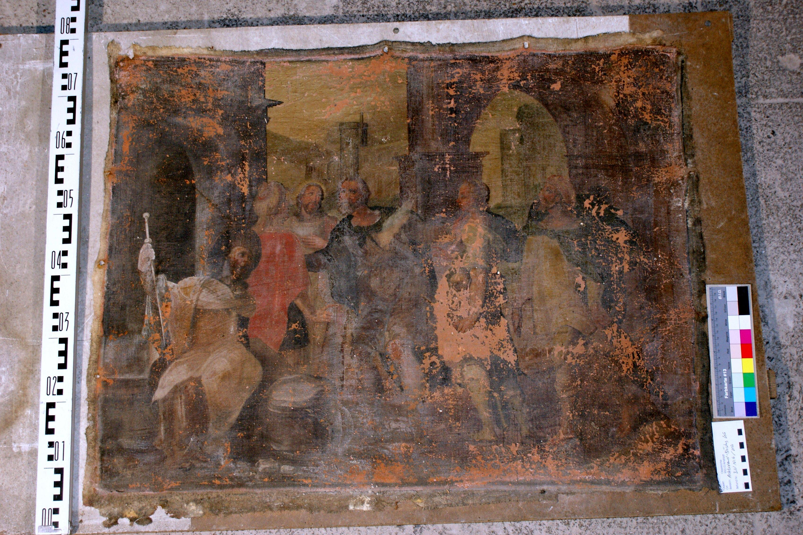 Werke der Barmherzigkeit – Fremdlinge beherbergen derzeitiger Zustand