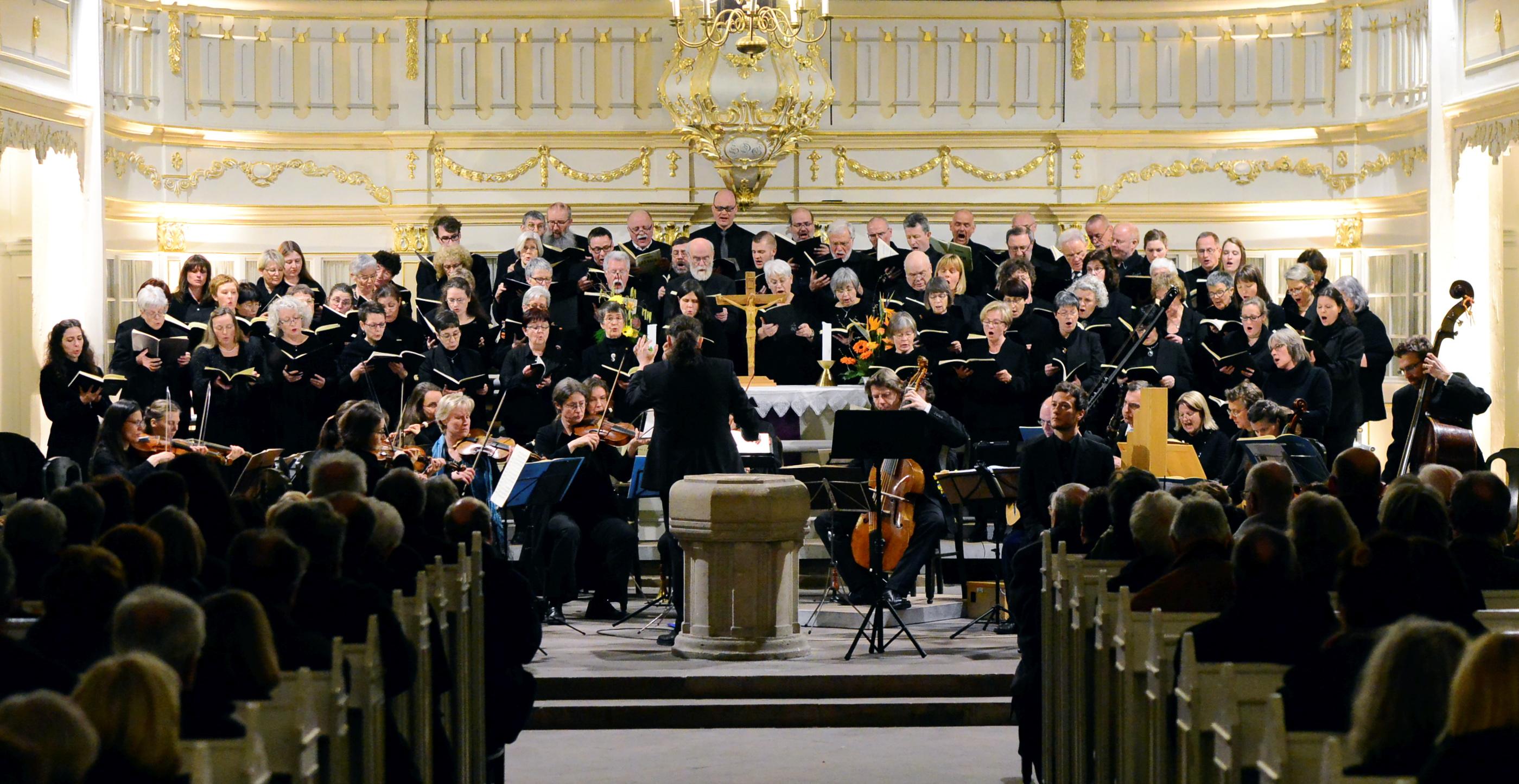 Bach-Festival in Arnstadt - die Johasses-Passion BWV 245 mit Kantor Jörg Reddin und dem Bachchor Arnstadt, Foto: H.-P. Stadermann