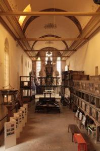 Ausstellung Arnstadt gestern & heute in der Oberkirche 2014, Foto: Heike Hansemann