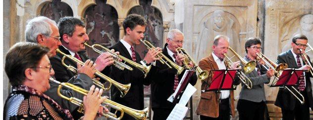 """Zum Konzert """"Musica Punct Fuenf"""" wurde am Sonntag in die Arnstädter Oberkirche eingeladen. Foto: Christoph Vogel"""