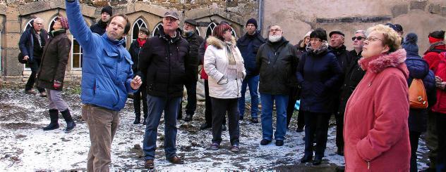 Presse: Großes Interesse an Oberkirchenführung
