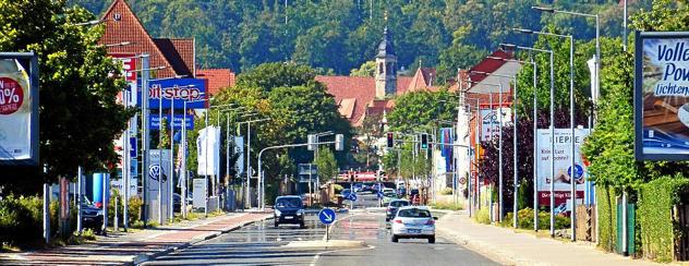 Presse: Der Turm der Oberkirche ist markantes Wahrzeichen von Arnstadt